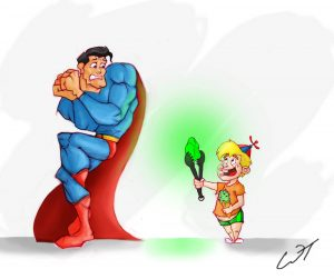 superman and kryptonite writing compelling characters