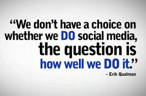 social media for authors Quote from erik qualman